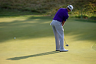 Tom Lewis (ENG) putting on the 16th during Round One of the 2015 Alstom Open de France, played at Le Golf National, Saint-Quentin-En-Yvelines, Paris, France. /03/07/2015/. Picture: Golffile | David Lloyd<br /> <br /> All photos usage must carry mandatory copyright credit (© Golffile | David Lloyd)