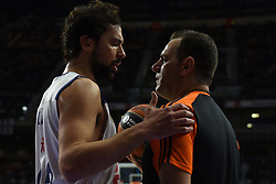 January 27, 2017 - Madrid, Madrid, Spain - Sergio Llul, #23 of Real Madrid pictured during the Euroleague basketball match between Real Madrid and EA7 Emporio Armani Milano. (Credit Image: © Jorge Sanz GarcíA/Pacific Press via ZUMA Wire)