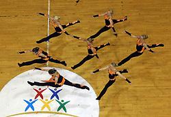 Northern Lights Junior Dance, Finland at European Cheerleading Championship 2008, on July 5, 2008, in Arena Tivoli, Ljubljana, Slovenia. (Photo by Vid Ponikvar / Sportal Images).