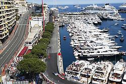 May 28, 2017 - Monte Carlo, Monaco - Motorsports: FIA Formula One World Championship 2017, Grand Prix of Monaco, .Bernd Maylaender (GER, Safety Car driver), #5 Sebastian Vettel (GER, Scuderia Ferrari) (Credit Image: © Hoch Zwei via ZUMA Wire)