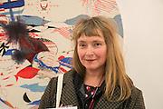 VIRGINIA VERRAN, Preview for the London Art Fair,  Islington Business Design Centre. London. 13 January 2014