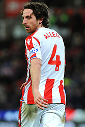 Joe Allen of Stoke City - Mandatory by-line: Nizaam Jones/JMP - 31/01/2018 - FOOTBALL - Bet365 Stadium - Stoke-on-Trent, England - Stoke City v Watford - Premier League