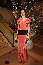 SHEHERAZADE GOLDSMITH at the Feast of Albion a sumptious locally-sourced banquet in aid of The Soil Association held at The Guildhall, City of London on 12th March 2008.<br />