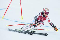 Coralie Frasse Sombet (FRA) during the Ladies' Giant Slalom at 57th Golden Fox event at Audi FIS Ski World Cup 2020/21, on January 16, 2021 in Podkoren, Kranjska Gora, Slovenia. Photo by Vid Ponikvar