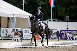 Capser Nicole, GER, Birkhof's Bohemian OLD<br /> World Championship Young Horses Verden 2021<br /> © Hippo Foto - Dirk Caremans<br /> 26/08/2021