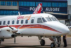 CaneLinha, como é chamado o transfer aéreo entre Canela e Porto Alegre teve seu  voo inaugural nesta quarta-feira, 18/11. FOTO: Jefferson Bernardes/ Agência Preview