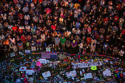 Mourners attend a candlelight vigil honouring the victims of the mass shooting at Pulse nightclub, where a gunman killed 49 and injured 53 others in an attack on the LGBTQ community, in Orlando, Florida, U.S.