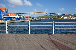 View Of Vehicle Bridge From Floating Foot Bridge