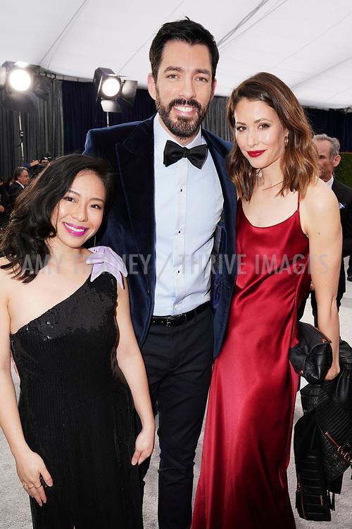 Linda Phan, Drew Scott, Amanda Crew