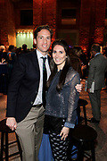 """April 3, 2017- Brooklyn, New York -United States: (L-R)  Peter W. Kunhardt Jr., Executive Director of the Meserve-Kunhardt Foundation and the Gordon Parks Foundation.and Lily Rogath attend the The Seventh Annual Brooklyn Artists Ball honoring Alicia Keys and Kasseem """"Swiss Beatz"""" Dean held at the Brooklyn Museum on April 3, 2017 in Brooklyn, New York. The Brooklyn Artist Ball is the largest annual fundraising gala at the Brooklyn Museum, which celebrates Brooklyn's creative community and supports the institution's many programs. (Terrence Jennings/terrencejennings.com)"""