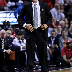 March 10, 2011; Miami, FL, USA; Miami Heat head coach Erik Spoelstra against the Los Angeles Lakers during the third quarter at the American Airlines Arena. The Heat defeated the Lakers 94-88.   Mandatory Credit: Derick E. Hingle