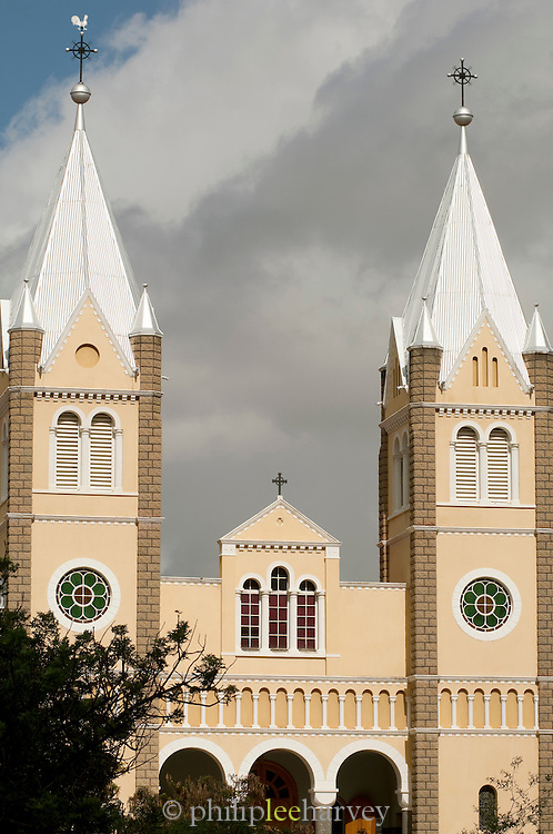 St. Mary's Cathedral, a Roman Catholic church in Windhoek, the capital and largest city of Namibia