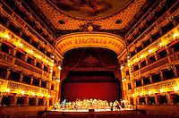 Italie, Campanie, Naples, Théâtre San Carlo // Italy, Campania, Naples, San Carlo theatre