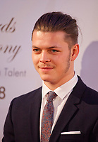 Høgh Andersen at the IFTA Film & Drama Awards (The Irish Film & Television Academy) at the Mansion House in Dublin, Ireland, Thursday 15th February 2018. Photographer: Doreen Kennedy