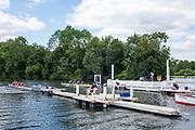 Henley on Thames, England, United Kingdom, 3rd July 2019, Start Area,  Henley Royal Regatta, Henley Reach, [© Peter SPURRIER/Intersport Image]<br /><br /><br />12:30:43 1919 - 2019, Royal Henley Peace Regatta Centenary,