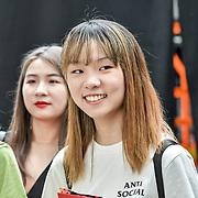 Graduate Fashion Week 2019 - Day One backstage on 2 June 2019, London, UK.