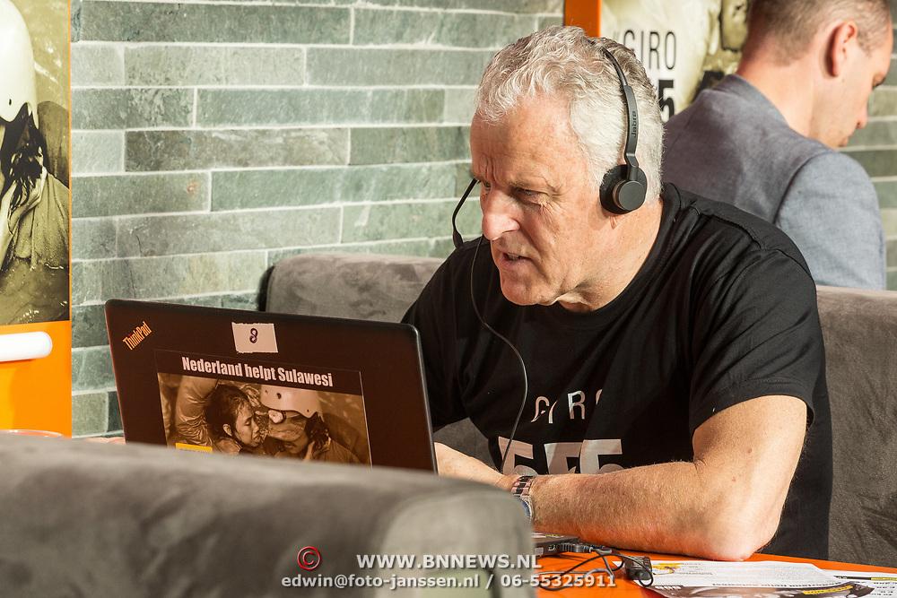 NLD/Hilversum/20181010 -  555 actiedag voor Sulawesi, Peter R de Vries