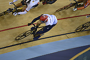 2012 Olympic Velodrome. London,Great Britain,..Description:  event- Men's Keirin, Final Bend Sir Chris HOY, on the inside, regains the lead to win the final, at the Olympic Velodrome...2012 London Olympic Track Cycling. Velodrome, Stratford East London. UK.. ..16:23:48  Tuesday  07/08/2012 [Mandatory Credit: Peter Spurrier/Intersport Images]  .