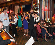 ANGELIQUE BRANDO; JOHN FLOYD, Beijing Film launch. Danieli Hotel St. Mark's Sq. . Venezia.  31 August  2013