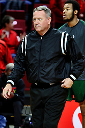 NORMAL, IL - December 16: Gary Maxwell during a college basketball game between the ISU Redbirds and the Cleveland State Vikings on December 16 2018 at Redbird Arena in Normal, IL. (Photo by Alan Look)