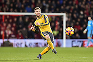 Arsenal Defender, Shkodran Mustafi (20) during the Premier League match between Bournemouth and Arsenal at the Vitality Stadium, Bournemouth, England on 3 January 2017. Photo by Adam Rivers.