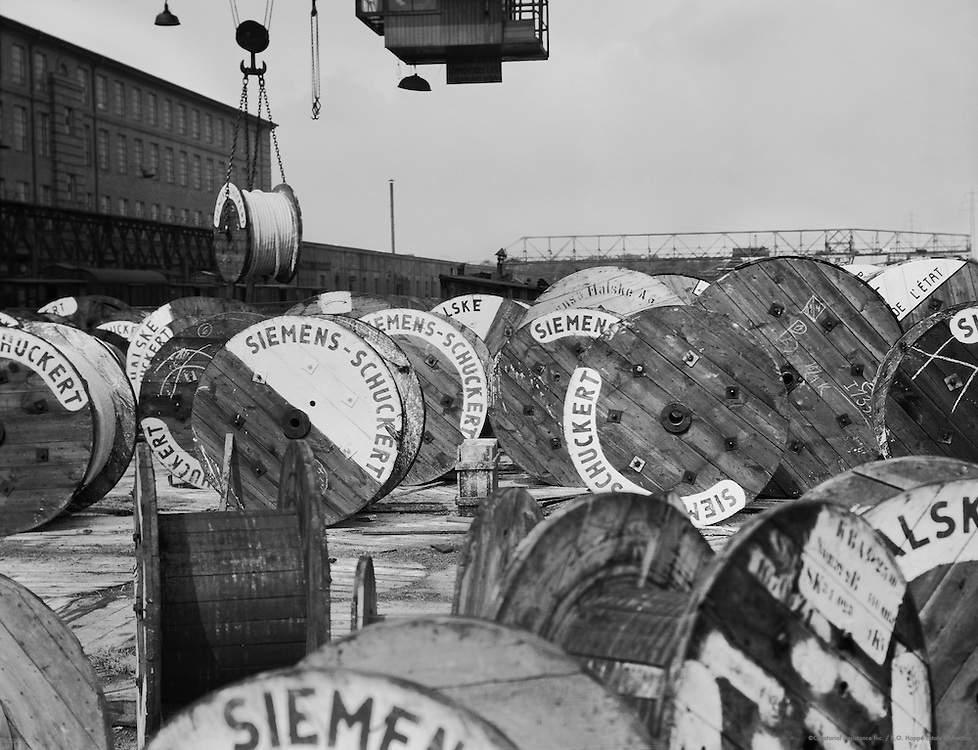 Siemens-Schuckertwerke, Gartenfeld, Berlin-Spandau, 1928