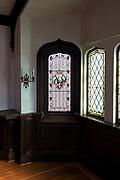 Window 1 on plan.<br /> <br /> St. Edward's Convent, Bar Harbor, Maine.