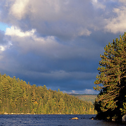 Third Debsconeag Lake, ME. West of Baxter State Park in Maine's Northern Forest.