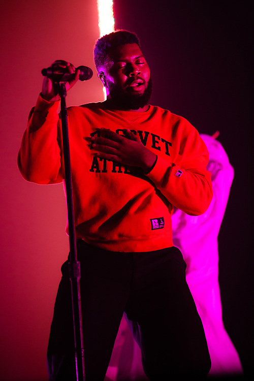 Khalid performing at the Rockhal Luxembourg, Europe on October 6, 2019