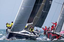 First day of the Delta Lloyd North Sea Regatta, Scheveningen, the Netherlands, Friday, 22nd of May 2015.