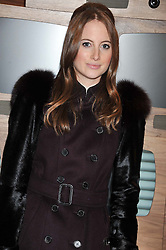 ROSIE FORTESCUE at an invitation-only acoustic performance by Rita Ora hosted by Calvin Klein Jeans at their Regent Street Store, London on 18th February 2013.