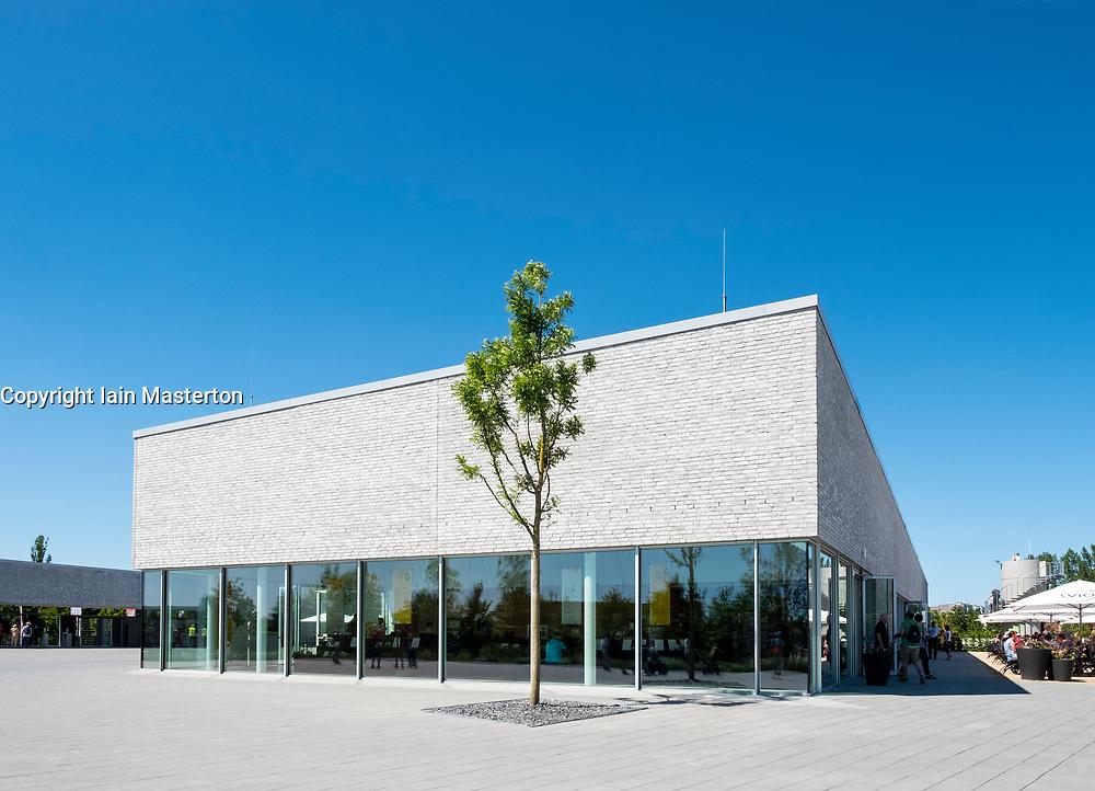 Visitors Centre at IGA 2017 International Garden Festival (International Garten Ausstellung) in Berlin, Germany