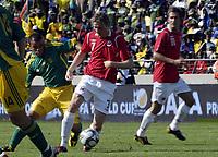 Fotball<br /> Privatlandskamp<br /> Sør Afrika v Norge 2-1<br /> Rustenburg<br /> 28.03.2009<br /> Foto: Vegard Fiskerstrand, Digitalsport<br /> <br /> Erik Huseklepp - NOR