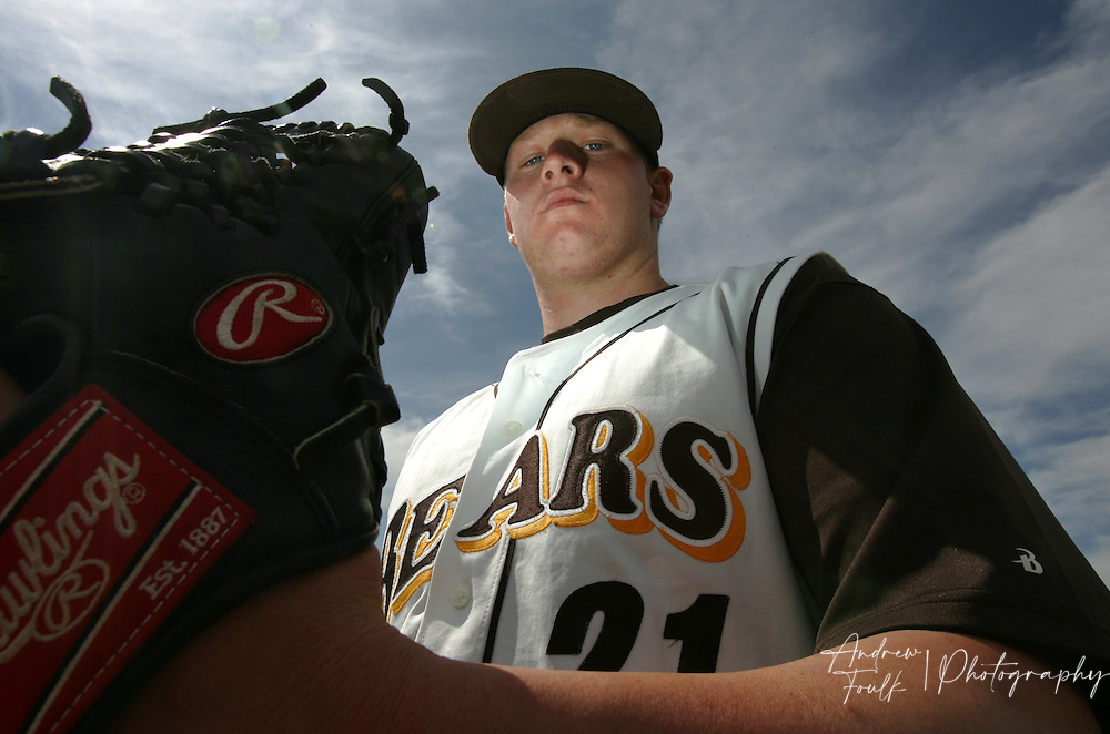 /Andrew Foulk/ For the Californian/.Temecula Valley High schools pitcher/first basemen Brooks Pounders,  is the All-Valley Player of the Year.