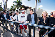 Schmidt Family Complex for Academic and Athletics Excellence - Beam Signing Ceremony
