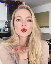 "Lindsay Ellingson releases a photo on Instagram with the following caption: ""Friday night glam! The holidays are my favorite time a year for bold lip! I like to keep it fresh with an effortless bronze smokey eye \ud83d\udc8b@wander_beauty"". Photo Credit: Instagram *** No USA Distribution *** For Editorial Use Only *** Not to be Published in Books or Photo Books ***  Please note: Fees charged by the agency are for the agency's services only, and do not, nor are they intended to, convey to the user any ownership of Copyright or License in the material. The agency does not claim any ownership including but not limited to Copyright or License in the attached material. By publishing this material you expressly agree to indemnify and to hold the agency and its directors, shareholders and employees harmless from any loss, claims, damages, demands, expenses (including legal fees), or any causes of action or allegation against the agency arising out of or connected in any way with publication of the material."