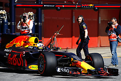 March 7, 2017 - Barcelona, Cataluna, Spain - Motorsports: FIA Formula One World Championship 2017, Test in Barcelona,.Daniel Ricciardo (AUS, Red Bull Racing) (Credit Image: © Hoch Zwei via ZUMA Wire)
