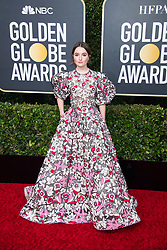 Nominee, Kaitlyn Dever, arrives at the 77th Annual Golden Globe Awards at the Beverly Hilton in Beverly Hills, CA on Sunday, January 5, 2020.