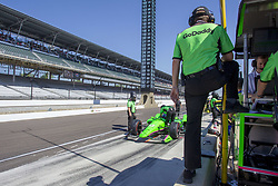 May 25, 2018 - Indianapolis, Indiana, United States of America - The Verizon IndyCar teams take to the track for the final practice for the Indianapolis 500 at the Indianapolis Motor Speedway in Indianapolis, Indiana. (Credit Image: © Justin R. Noe Asp Inc/ASP via ZUMA Wire)