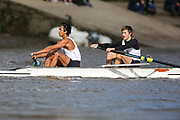 Crew: 37 - Rizk / Ackrim - St Pauls School Boat Club - Op Junior 2- <br /> <br /> Pairs Head 2020