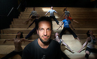 Coreographer Gideon Obarzanek is leaving Chunky Move. Pic By Craig Sillitoe CSZ/The Sunday Age.22/9/2011  Pic By Craig Sillitoe CSZ / The Sunday Age melbourne photographers, commercial photographers, industrial photographers, corporate photographer, architectural photographers, This photograph can be used for non commercial uses with attribution. Credit: Craig Sillitoe Photography / http://www.csillitoe.com<br /> <br /> It is protected under the Creative Commons Attribution-NonCommercial-ShareAlike 4.0 International License. To view a copy of this license, visit http://creativecommons.org/licenses/by-nc-sa/4.0/.