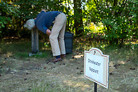 Bosch en Duin - Drinkwater tappunt, Droogte op Golf Club de Pan. COPYRIGHT KOEN SUYK