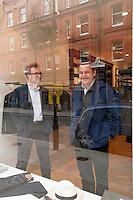 Nicholas Brooke and Dominic Hazlehurst, Sunspel, Chiltern street, London.