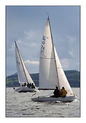 Largs Regatta Week 2011..Mellow Moment and Panima, Loch Long 74, CYCA Class 4