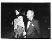 Mr and MrsHenry and Carloyne Kravis, NY Opera, 1992 (approx)© Copyright Photograph by Dafydd Jones 66 Stockwell Park Rd. London SW9 0DA Tel 020 7733 0108 www.dafjones.com