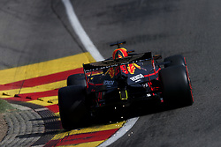 August 31, 2019, Francorchamps, Belgium: MAX VERSTAPPEN of Aston Martin Red Bull Racing during qualifying of the Formula 1 Belgian Grand Prix at Circuit de Spa-Francorchamps in Francorchamps, Belgium. (Credit Image: © James Gasperotti/ZUMA Wire)