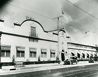 1931 Fox Studios in Hollywood
