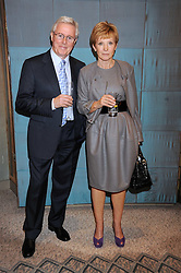 MICHAEL ASPEL and ANNE ROBINSON at a tribute lunch in honour of Michael Aspel hosted by The Lady Taverners at The Dorchester, Park Lane, London on 14th November 2008.