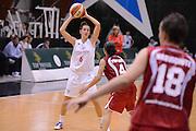 DESCRIZIONE : Roma Basket Campionato Italiano Femminile serie B 2012-2013<br />  College Italia  Gruppo L.P.A. Ariano Irpino<br /> GIOCATORE : Elisa Chiabotto<br /> CATEGORIA : passaggio<br /> SQUADRA : College Italia<br /> EVENTO : College Italia 2012-2013<br /> GARA : College Italia  Gruppo L.P.A. Ariano Irpino<br /> DATA : 03/11/2012<br /> CATEGORIA : palleggio<br /> SPORT : Pallacanestro <br /> AUTORE : Agenzia Ciamillo-Castoria/GiulioCiamillo<br /> Galleria : Fip Nazionali 2012<br /> Fotonotizia : Roma Basket Campionato Italiano Femminile serie B 2012-2013<br />  College Italia  Gruppo L.P.A. Ariano Irpino<br /> Predefinita :