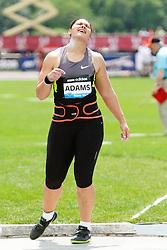 Samsung Diamond League adidas Grand Prix track & field; Women's Shot Put, Valerie Adams, NZL